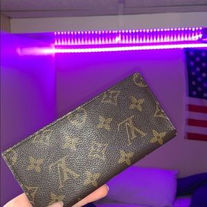 Louis Vuitton Bifold Wallet *Canvas Print*